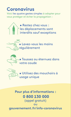 COVID19 : GUIDE PRATIQUE 24/03/2020